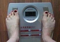 Körperfettwaage Test - Ein Exemplar im Einsatz