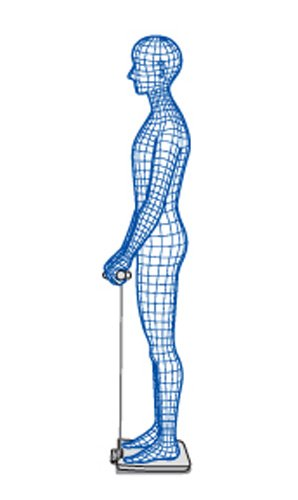 Tanita BC-601 Segment Körperanalyse-Waage / Körperfettwaage - 4