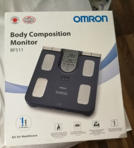 Als Frau den Körperfettanteil per Körperfettwaage messen