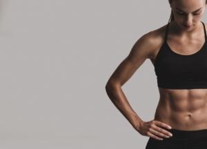 Wie hoch muss der Körperfettanteil einer Frau für einen Sixpack sein
