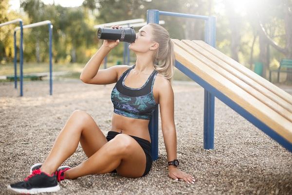 Der Körperwasseranteil wird maßgeblich beim Trinken bestimmt
